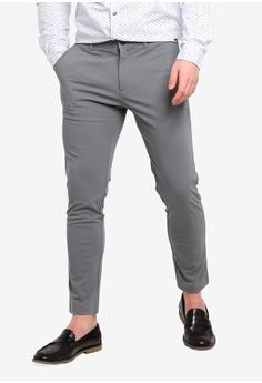 dca388d27 ESPRIT grey Woven Long Pants 10EDCAA5AB93BCGS 1