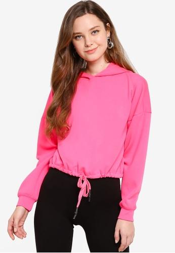 ONLY pink Long Sleeve Hoodie 19B21AAF4359E2GS_1