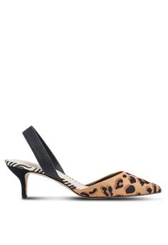 f4b69eacb4 ALDO brown Lovorelle Pointed Slingback Kitten Heels 1EFBASHB568D69GS_1