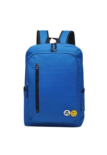 Stylebox blue Meiti Boshi YR-MT6122 School/Casual Backpacks B3E30ACBA608A2GS_1
