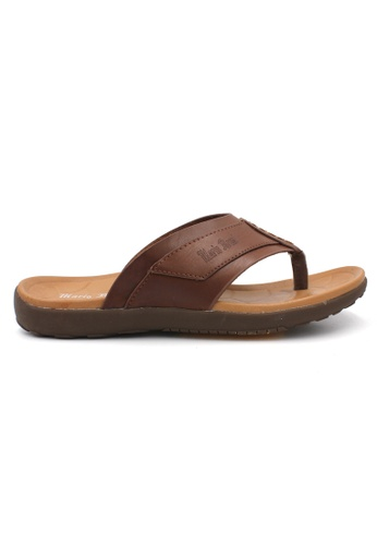 midzone brown MARIO BRUNI Comfortable Latex Sandals B54C4SH1A95ADCGS_1