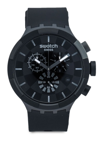 Swatch black Checkpoint Black Watch 03878ACFFAB504GS_1