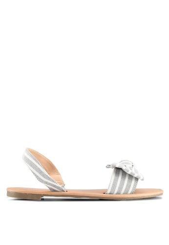 Rubi navy Everday Ellie Bow Slingback Sandals E3FA4SH345A41BGS_1