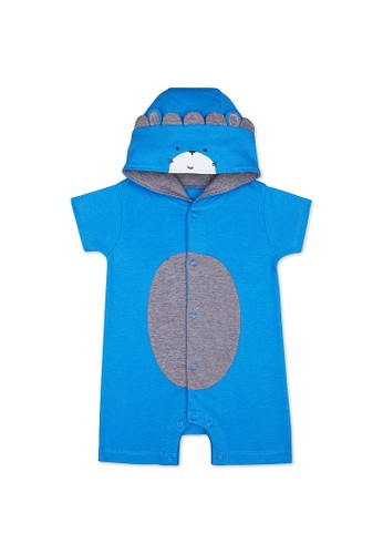 Mothercare blue Mothercare Baby wild one novelty romper - Terusan Bayi Multicolour 78384KA1DEC44CGS_1