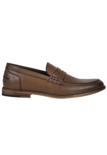 Tomaz brown Tomaz F169 Penny Loafers (Coffee) CC6F1SH11EE410GS_1