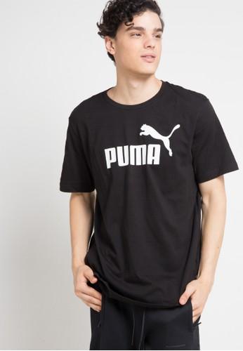 PUMA black Sportstyle Core Essentials Logo Tee 32478AA0EDE780GS_1