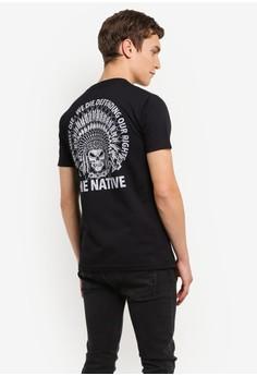 【ZALORA】 Native Liberty Tee