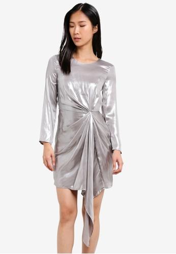 Bardot silver Shimmer Dress BA332AA0SBJ9MY_1