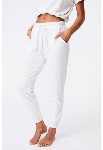 Cotton On Body grey SUPER SOFT SLIM CUFF PANT 8FB08AA01A7303GS_1