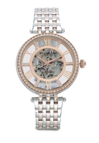 Stuhrling Original gold Delphi 724 Watch 4DB60AC8F06EB0GS_1