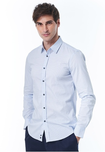United Colors of Benetton white Slim Fit Shirt 448DCAA953EAC8GS_1