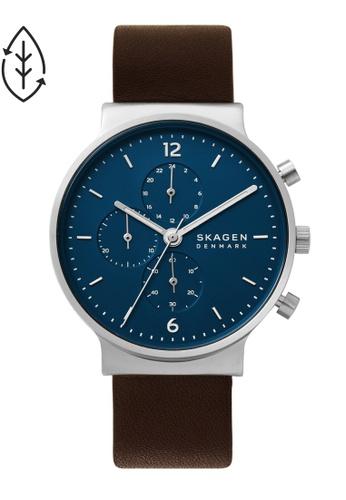 SKAGEN brown Ancher Watch SKW6765 822FDACA362913GS_1