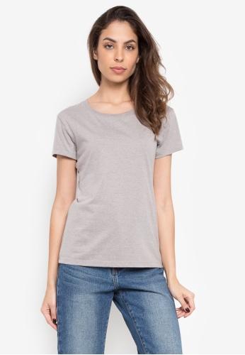 Greatvalueplus grey Newyork Army Ladies Roundneck Shirt 0219 2A334AA73DD2B8GS_1