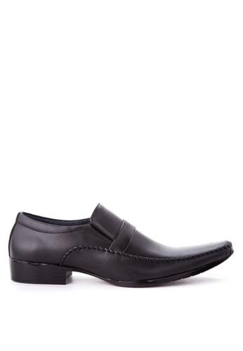Brogue & Derby black Daedalus Formal Shoes BR611SH86CQBPH_1