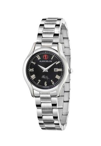 Alain Delon silver Alain Delon Women AD344-2338 Silver Stainless Steel Watch E6B21AC1C45C29GS_1