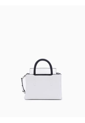 Calvin Klein white Folded Micro Carryall 69CF1AC44C52FBGS_1