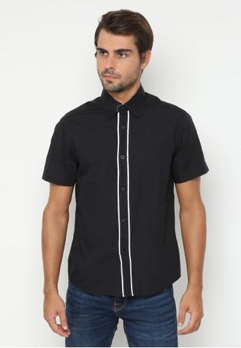 JOULDAS black Jouldas Casual Black Shirt 3D366AA3F0C60EGS_1