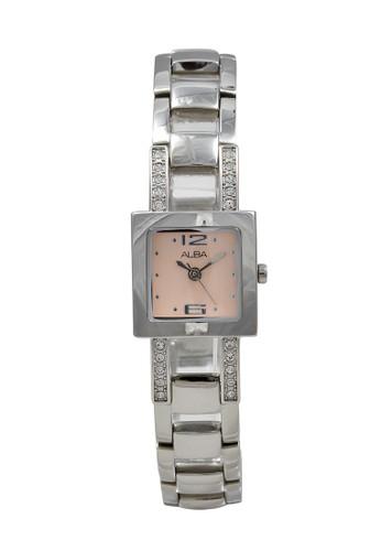 Alba silver ALBA Jam Tangan Wanita - Silver Pink - Stainless Steel - AC3Q97 57EACACBD65F2FGS_1