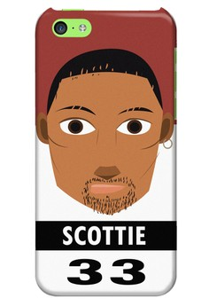 Scottie Glossy Hard Case for iPhone 5c