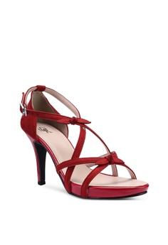 92a7eb7e6bbf DMK Cute Bow Heel Sandals RM 192.90. Sizes 36 37 38 39