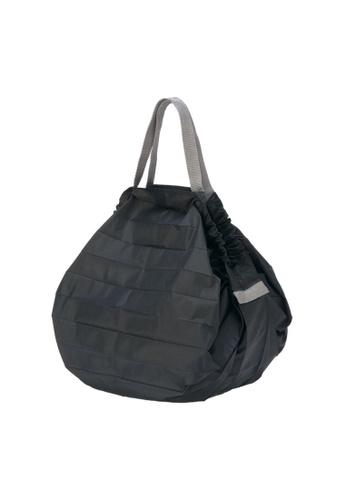 Shupatto black Shupatto Foldable Tote (M) - Black 9688EAC63B4828GS_1