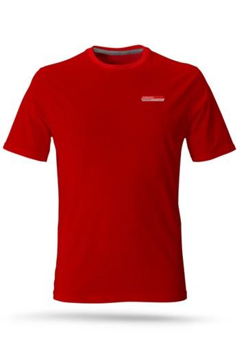 Corenation Active red Running Jersey - Red 437C6AADF1C28CGS_1