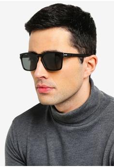 95107a6a73b7 Oakley black Performance Lifestyle OO9358 Sunglasses 6F9FAGLB0146EBGS_1