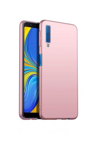 best authentic 9e205 0ac5e Samsung A7 2018 MobileHub X-Level Rubberized Matte Hard Back Case