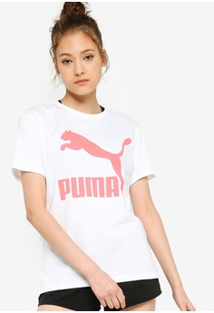 9912058e PUMA white Sportstyle Prime Classics Logo Tee BC4DAAAADFC44AGS_1