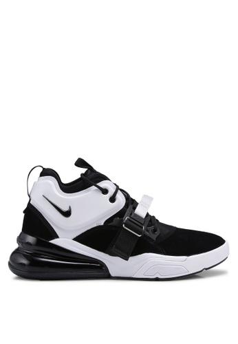 Nike black and white Men's Nike Air Force 270 Shoes 384D2SHB7DF57DGS_1
