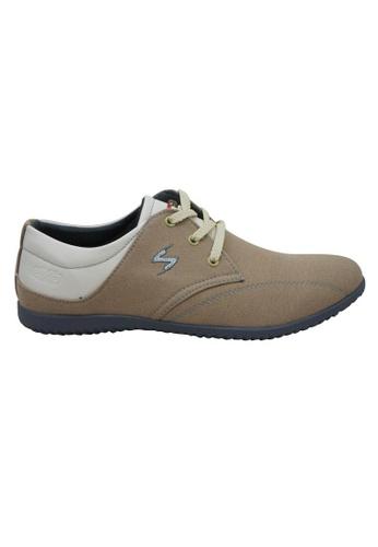 midzone beige EXO SCORPION Fashion Sneaker SC378SH04PJNMY_1