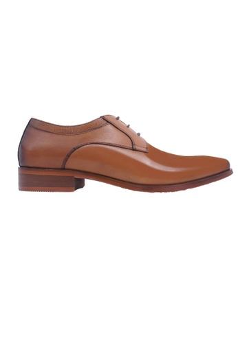Hanson Bootmaker brown Hanson Bootmaker LacEasy Derby- Brown 0F2BDSHFE500F0GS_1