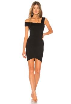 f461ed3bc9e6 by the way black Fallon Asymmetrical Mini Dress(Revolve) C5564AA0DF8B65GS_1