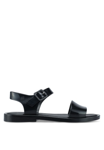 Melissa 黑色 Melissa Mar Sandal Ad Sandals 204D4SHD86E243GS_1