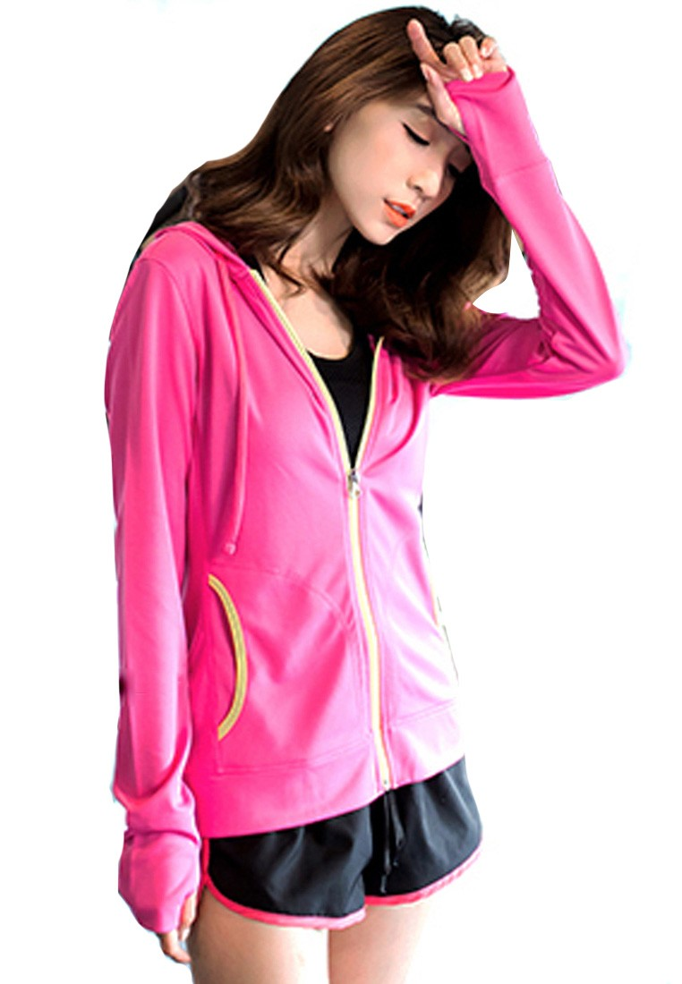 Hit Color Anti-UV Sports Jacket