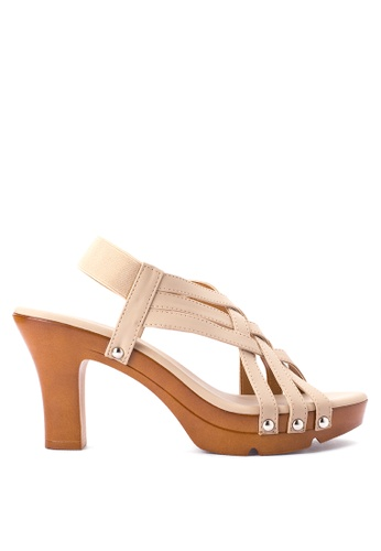 BANDOLINO brown Summer Heel Sandals BA161SH05NGCPH_1