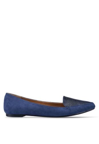 Rubi 多色 麂皮鱷魚紋樂福鞋 121A6SHBFE7306GS_1