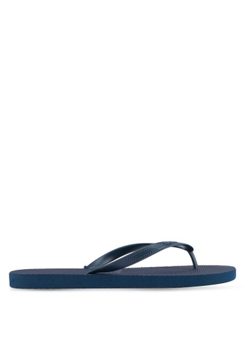 Billabong navy Low Down Splice Thongs BI783SH0SXIRMY_1