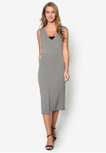 深V 低胸連身裙, 服esprit 中文飾, 洋裝