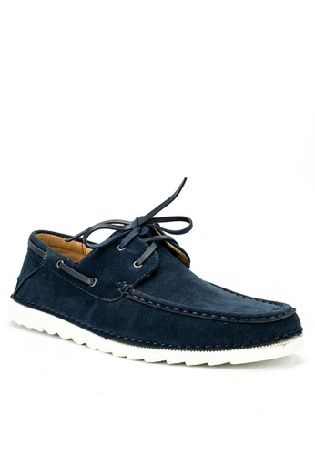 Mario D' boro Runway navy Eugene Casual Shoes F7706SH8FED4F6GS_1