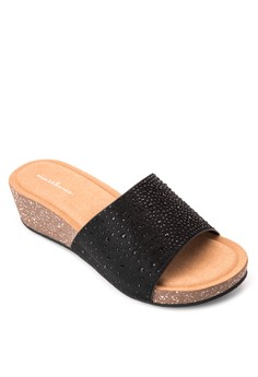 Ashley Wedge Slides