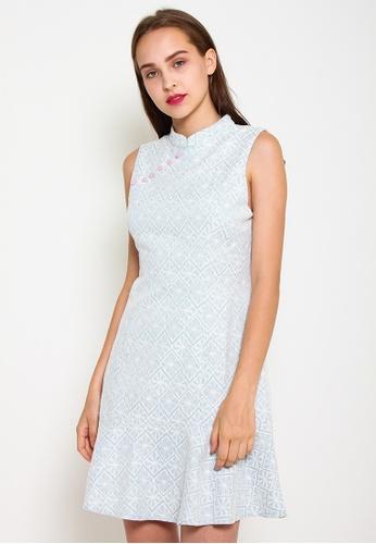 Leline Style blue Aylin Cheongsam Dress B5678AA08E9A4BGS_1