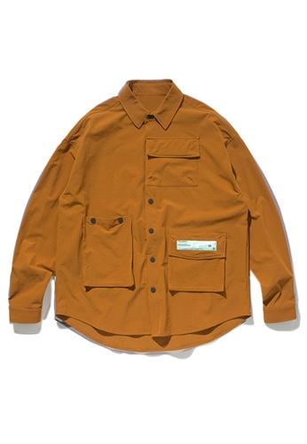 Twenty Eight Shoes Multi Pockets Long Sleeve Shirt 92153W 2AA01AA9F01843GS_1