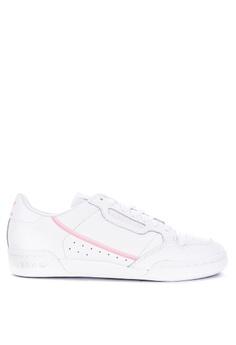 10696a5fe88 adidas white adidas originals continental 80 w E7732SHDD76E3EGS_1