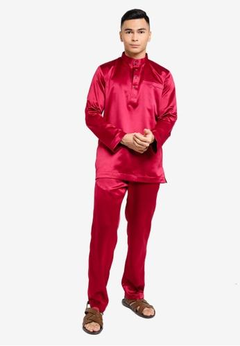 REALFANTASY red BAJU MELAYU SHAH ISKANDAR FAFA4AA3A1CBF7GS_1