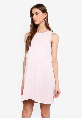 bf889f284baa6 Buy Seraphine Breanna Maternity Double Layer Sleeveless Dress | ZALORA HK