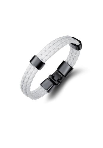 ADORA black Leather Bracelet 8D8FEACF193D74GS_1