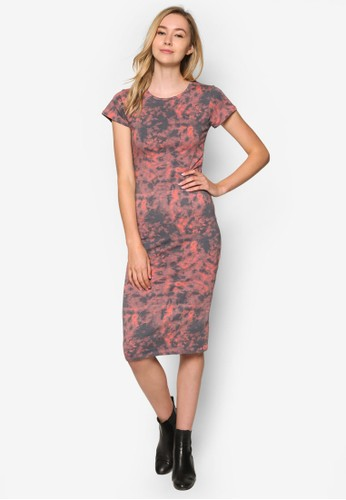 Kn Andrea 撞色滾邊短袖洋裝、 服飾、 洋裝CottonOnKnAndrea撞色滾邊短袖洋裝最新折價