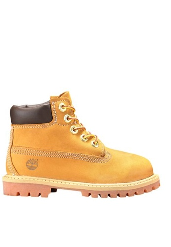 80e8f94f6d8c Timberland brown Timberland Toddler 6-Inch Premium Waterproof Boots Wheat  Nubuck 52B03SH8A899A2GS 1