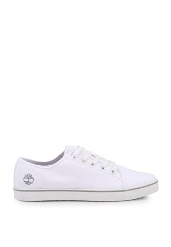 Timberland white Skape Park Canvas Oxford Shoes AFAE4SHAE719CEGS_1